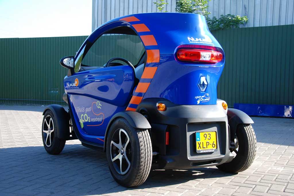 Auto reclame - Nijhuis Rioolreiniging