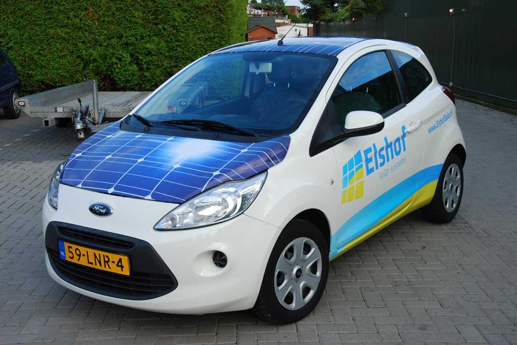 Auto reclame - Elshof Solar Systems