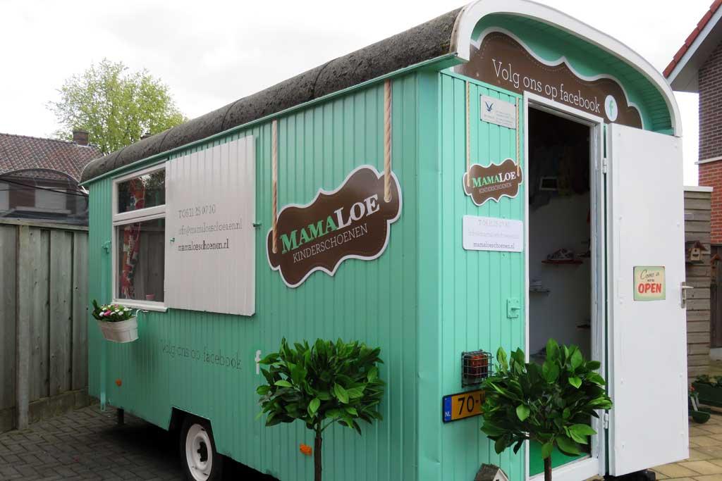 Caravan reclame - Mamaloe Kinderschoenen