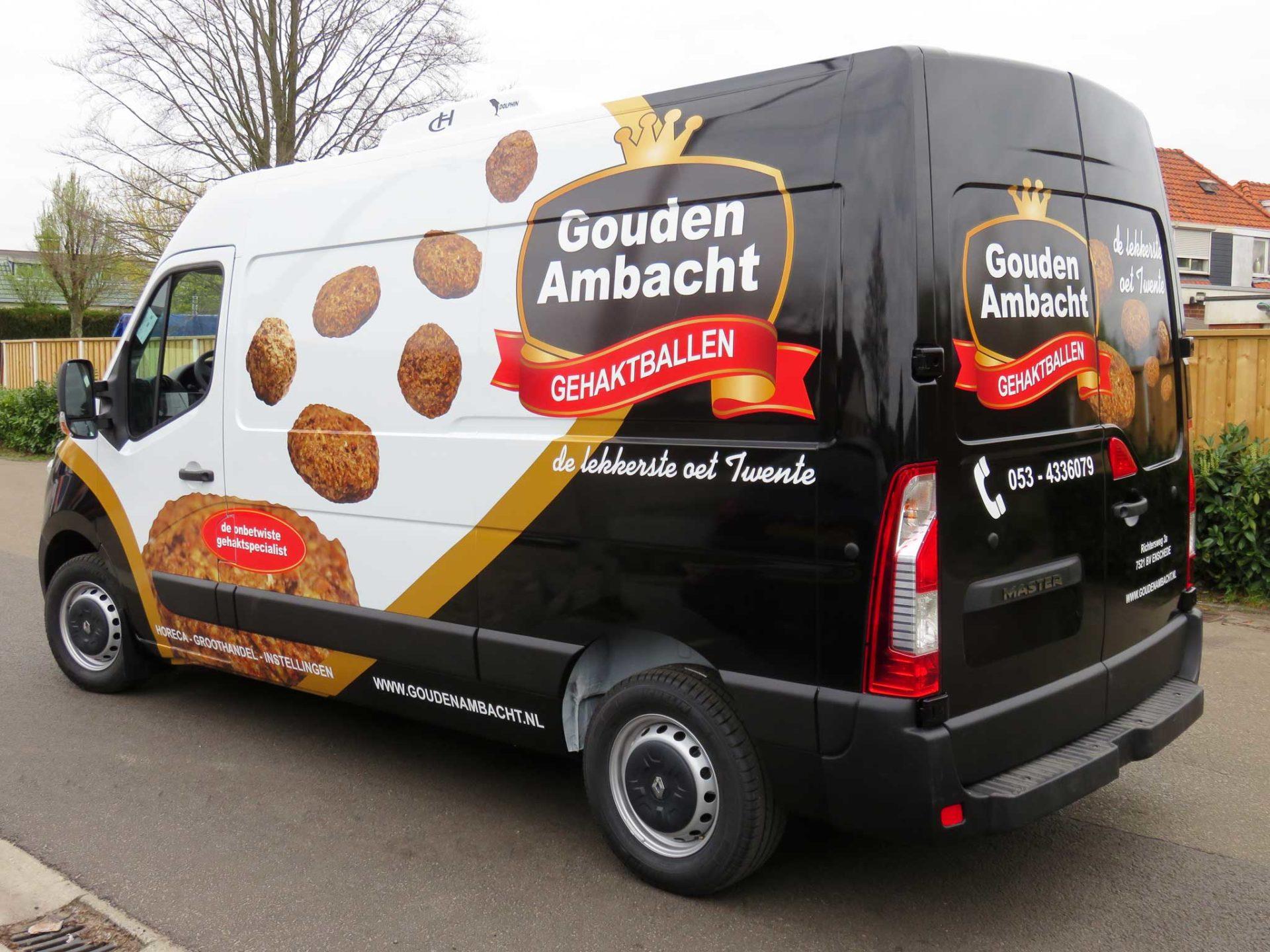 Bedrijfsbus - Gouden Ambacht Gehaktballen