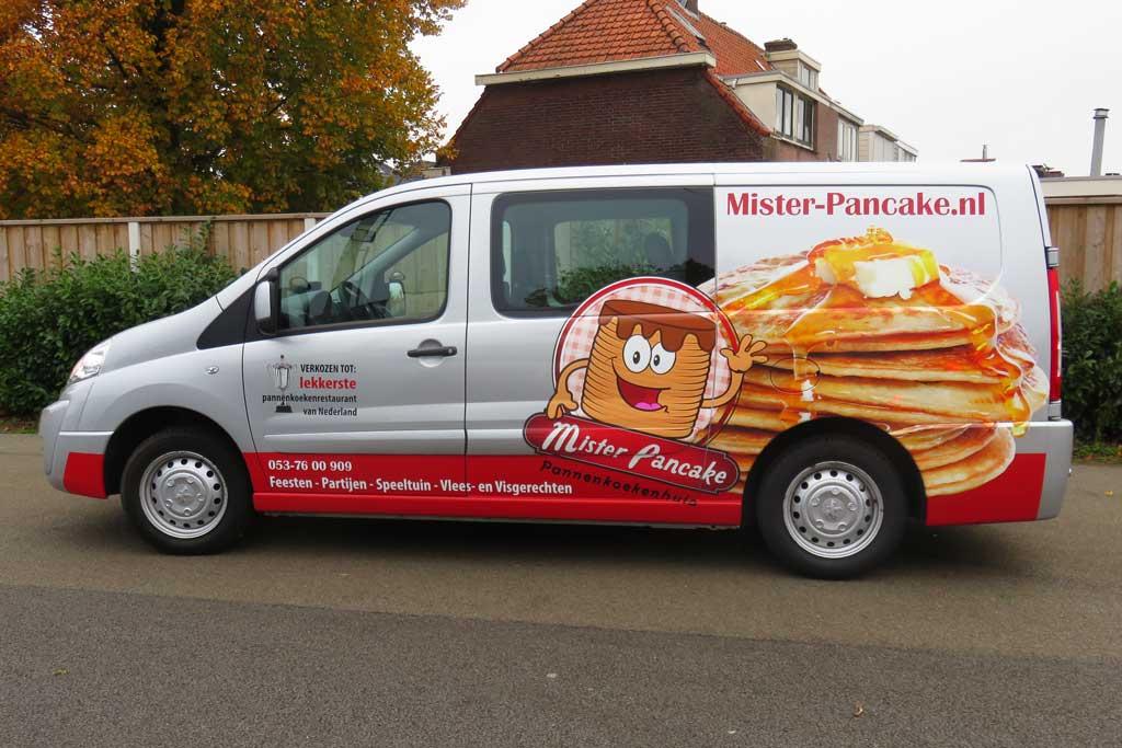 Bedrijfsbus reclame - Mister Pancake