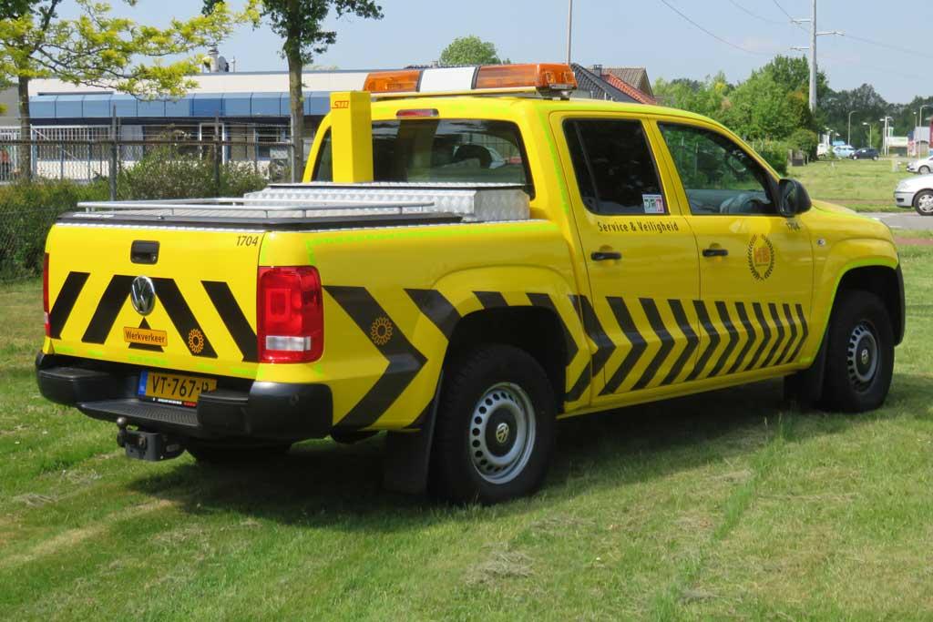 Pickup truck reclame - MB Beheergroep