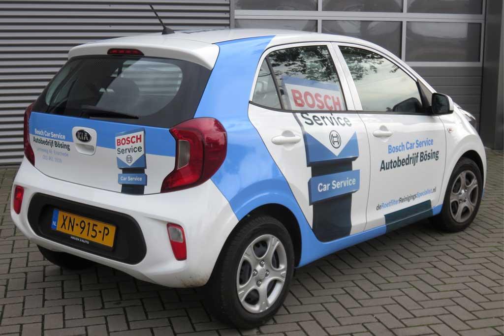 Auto reclame - Bosch Car Service